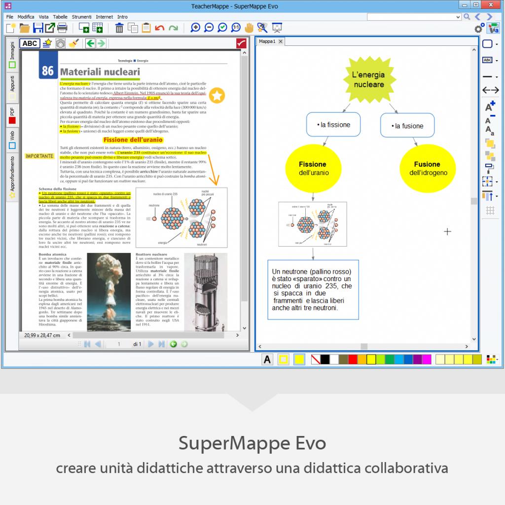 Teachermappe -SuperMappe EVO per creare unità didattiche attraverso una didattica collaborativa