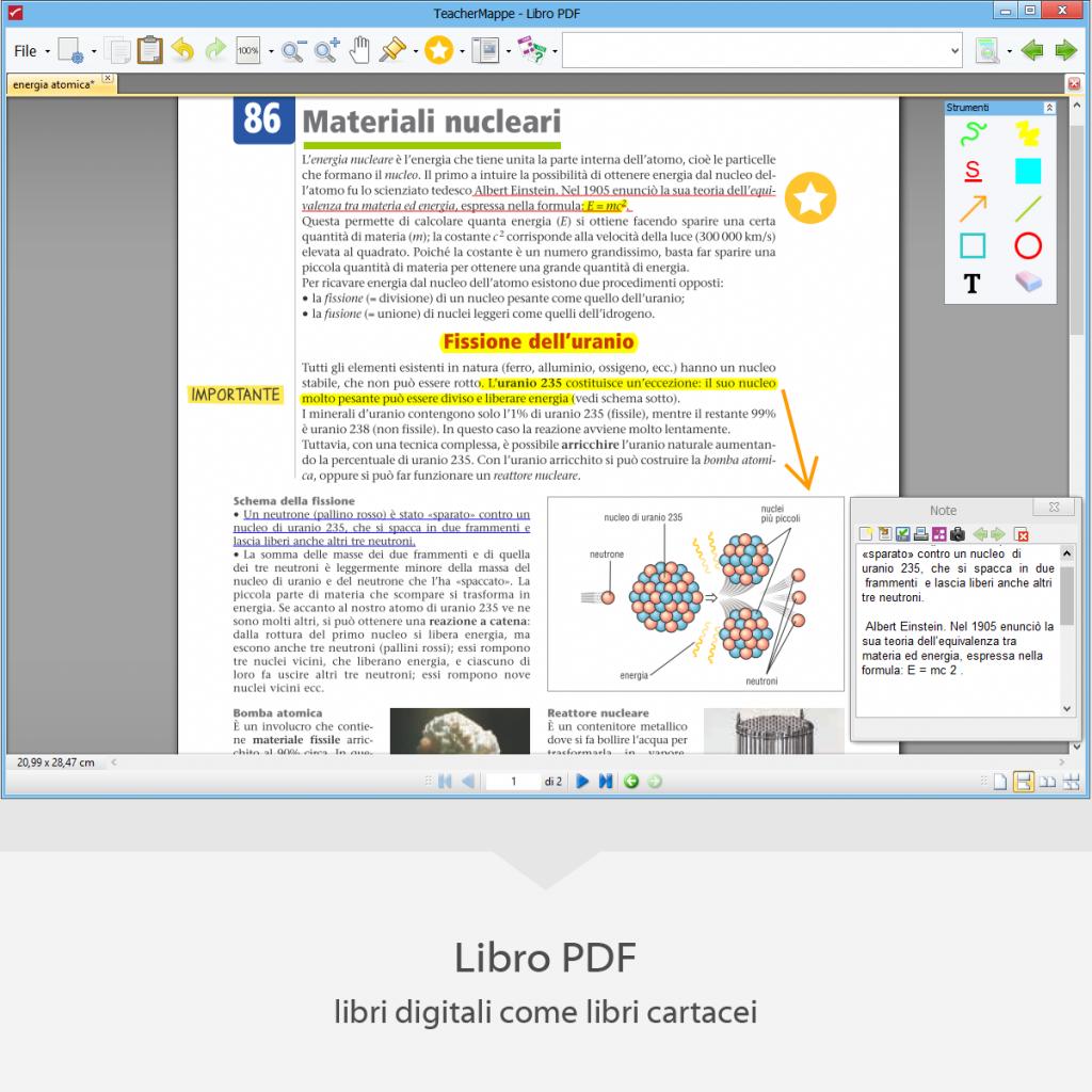 Teachermappe- Ambiente Libro PDF - libri digitali come libri cartacei