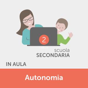 Corsi in aula - Informatica per l'autonomia - studenti della scuola secondaria - livello Avanzato