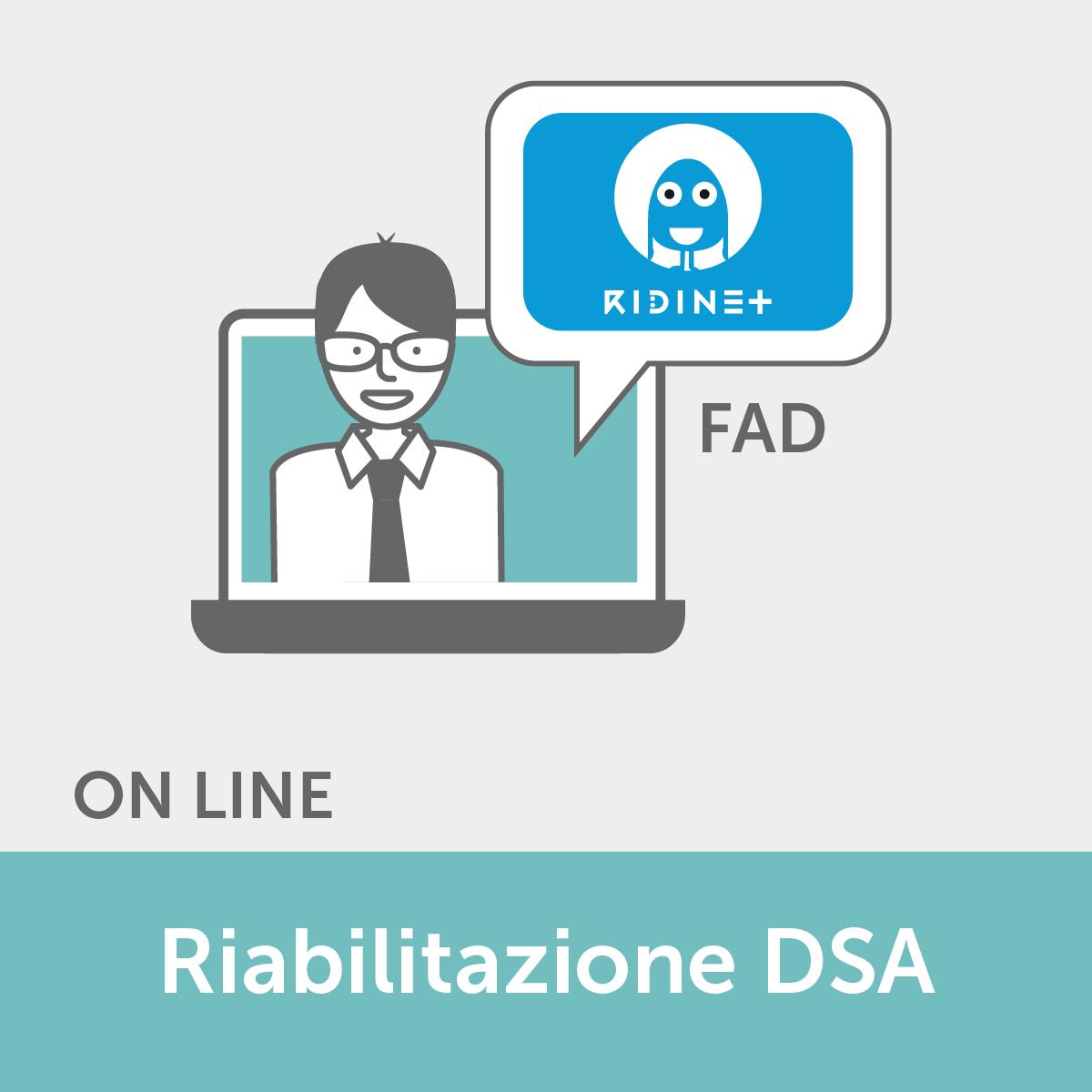 FAD ECM - Teleriabilitazione dei DSA e dei DL con RIDInet