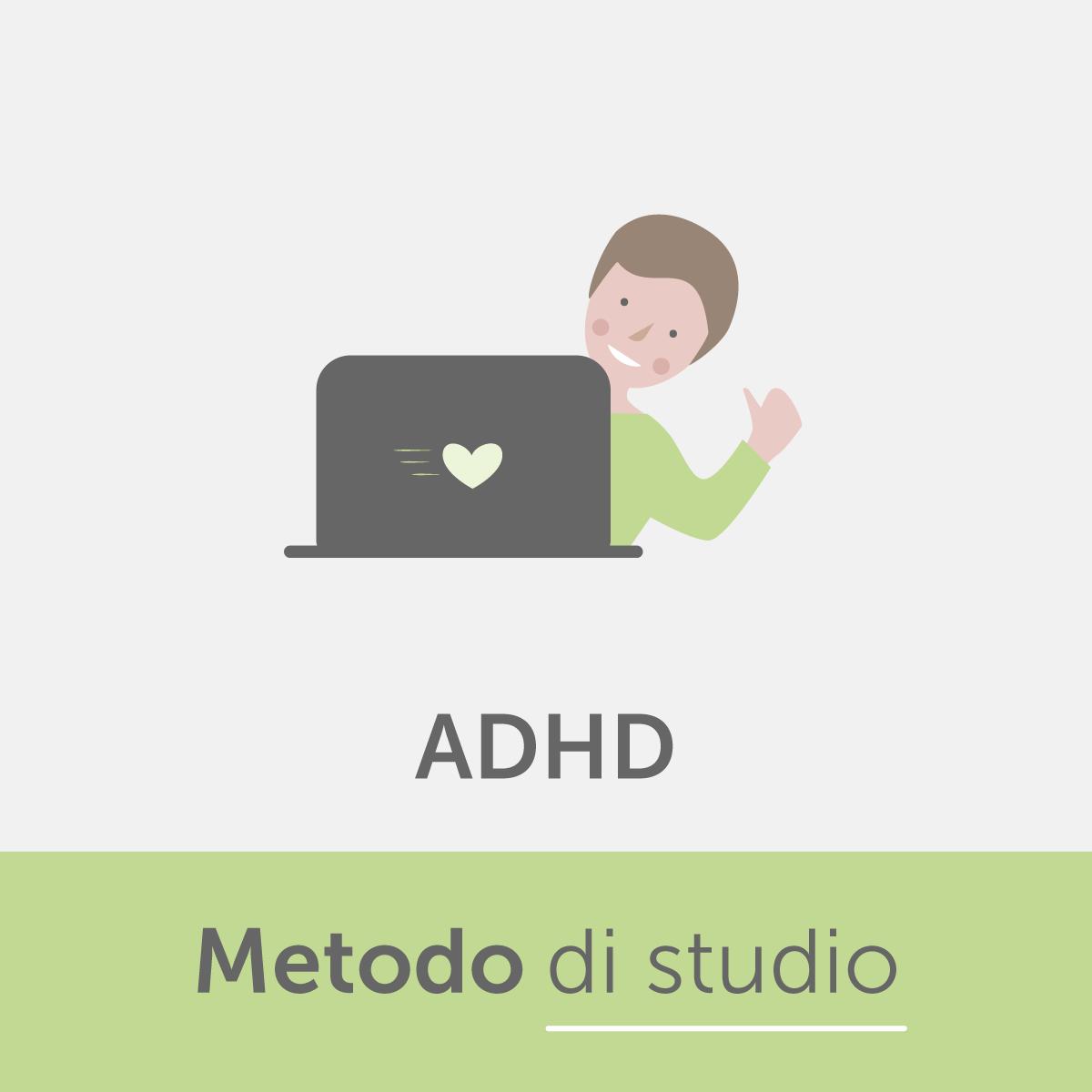 Metodo di studio ADHD