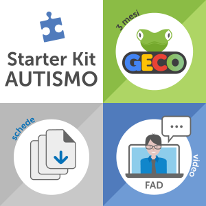 Starter Kit Autismo - Geco per tre mesi, video e materiali