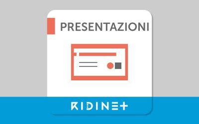Tutte le presentazioni RIDInet