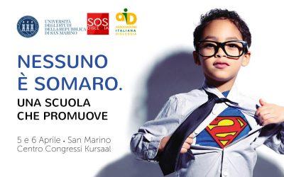 IV Convegno SOS Dislessia – nessuno è somaro. Una scuola che promuove