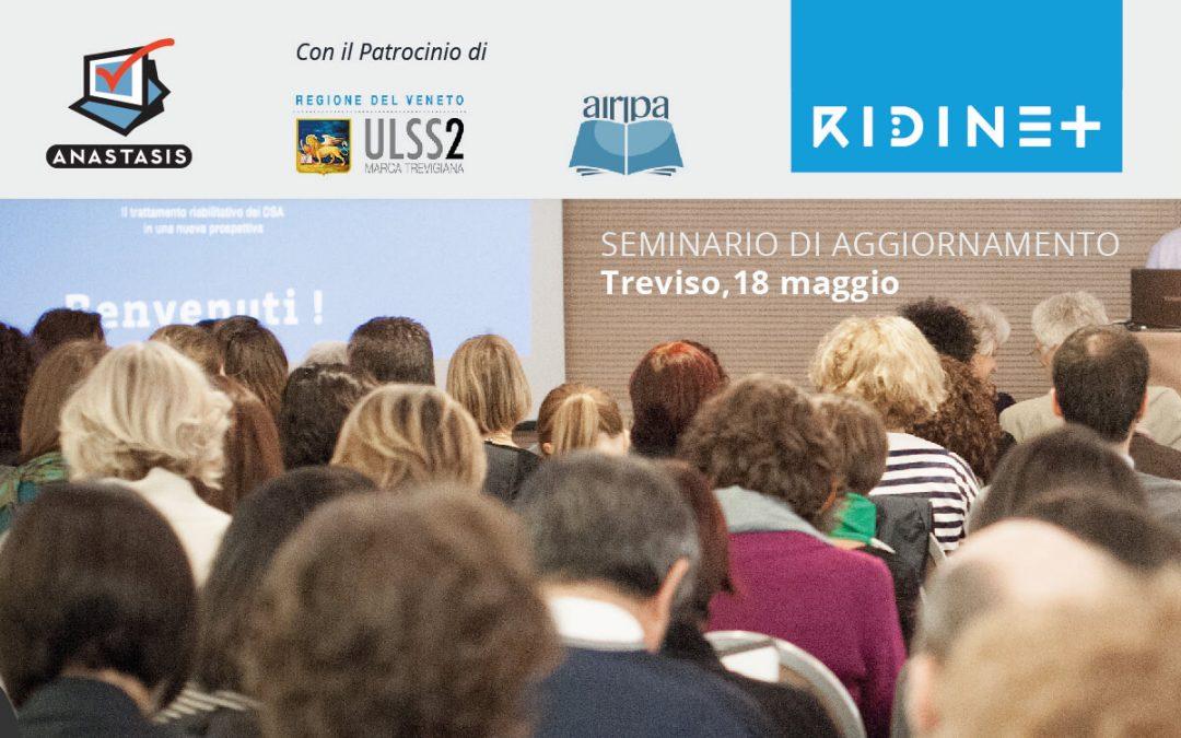 Seminario a Treviso su RIDInet, la teleriabilitazione per DSA
