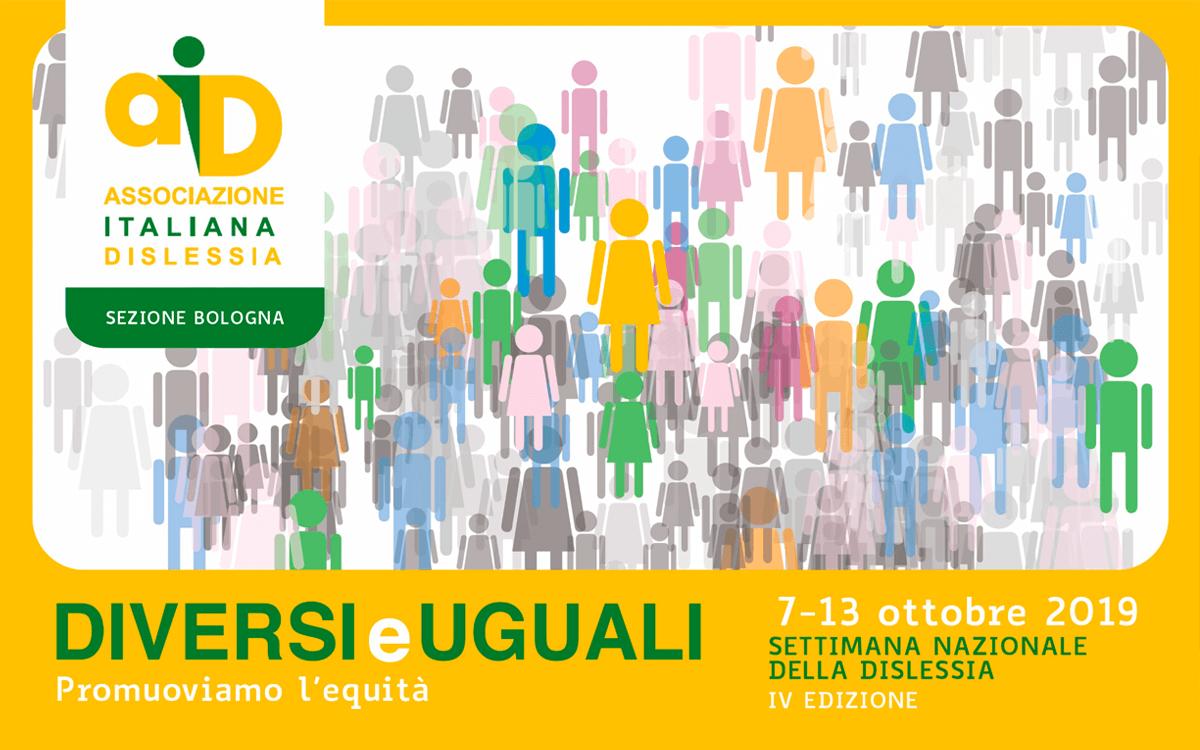AID Settimana della Dislessia IV edizione - Diversi e Uguali