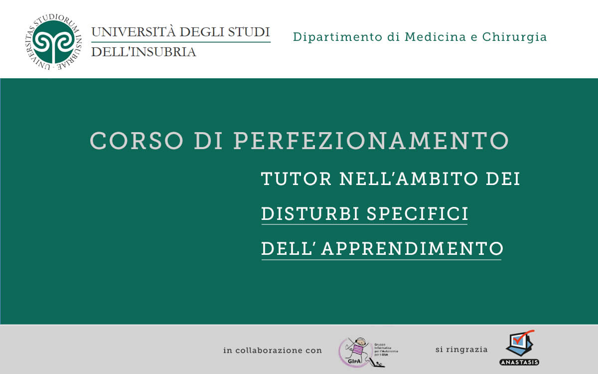 Evento Corso TDA Varese