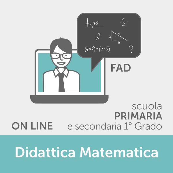 Fad Didattica Matematica Primaria - corso online