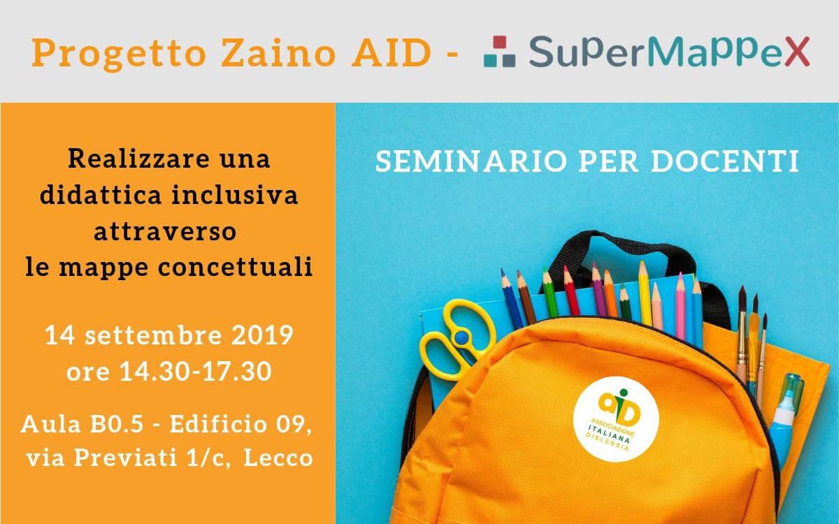 Seminario Zaino AID Lecco