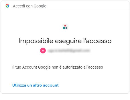 Errore accesso SuperMappeX: impossibile accedere
