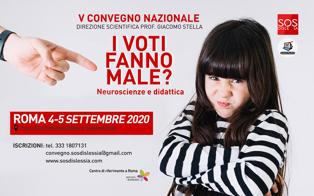 SOS Dislessia V Convegno 4-5 settembre 2020
