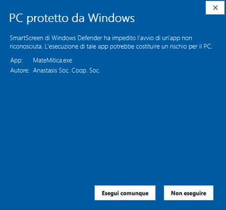 Pc protetto da Windows