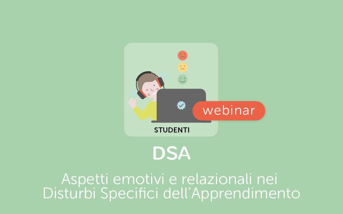 Webinar DSA emozioni studenti