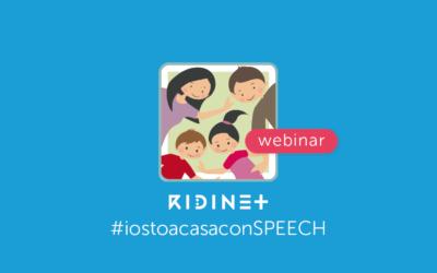 Webinar - IostoacasaconSpeech - lavorare a distanza