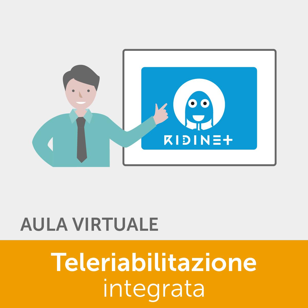 ECM 50 crediti - La teleriabilitazione integrata con la piattaforma RIDInet - 2° Ed. online