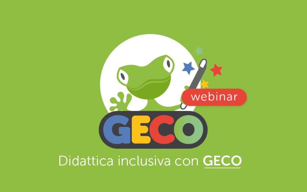 webinar - didattica inclusiva con GECO