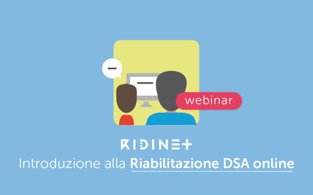 Clinici » Introduzione alla Riabilitazione Online dei DSA