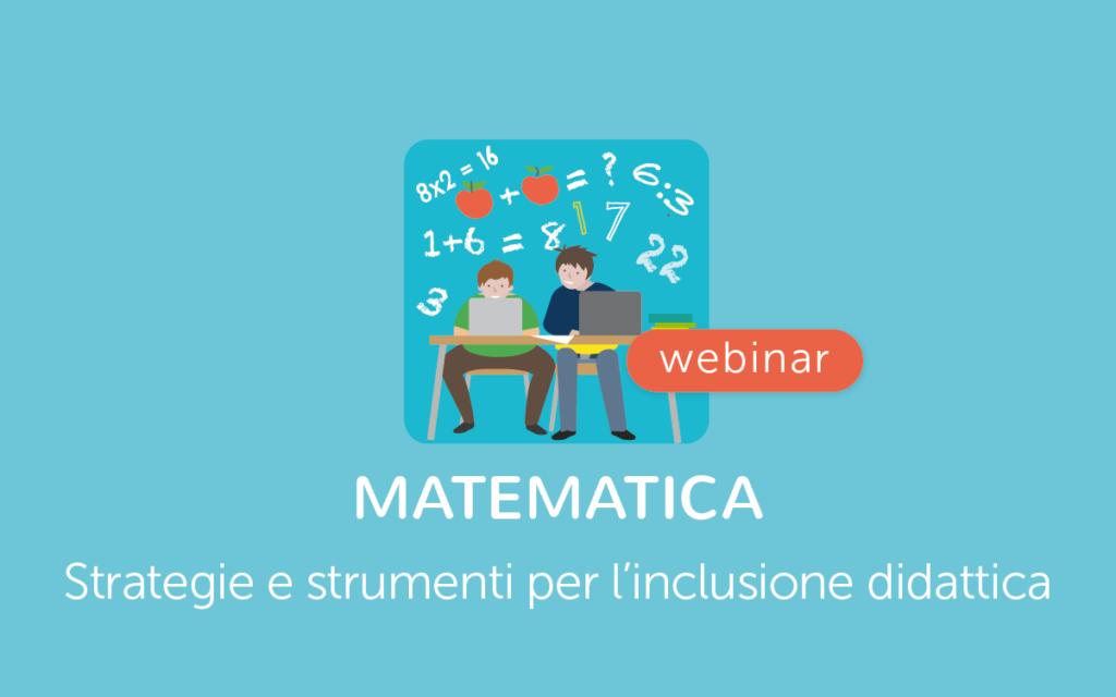 Matematica per inclusone scolastica