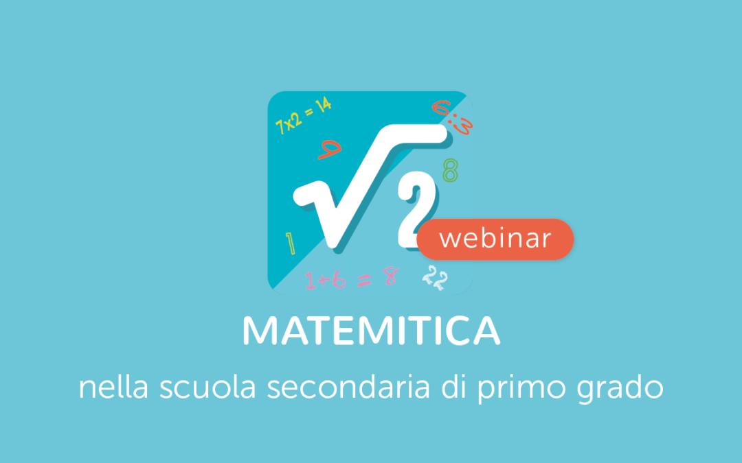 Famiglie, Scuola, Studenti » MateMitica nella scuola Secondaria di Primo Grado