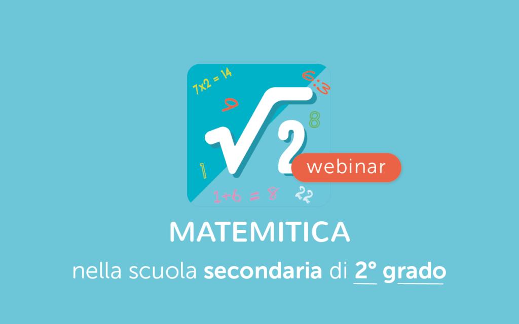 MateMitica nella scuola secondaria di secondo grado