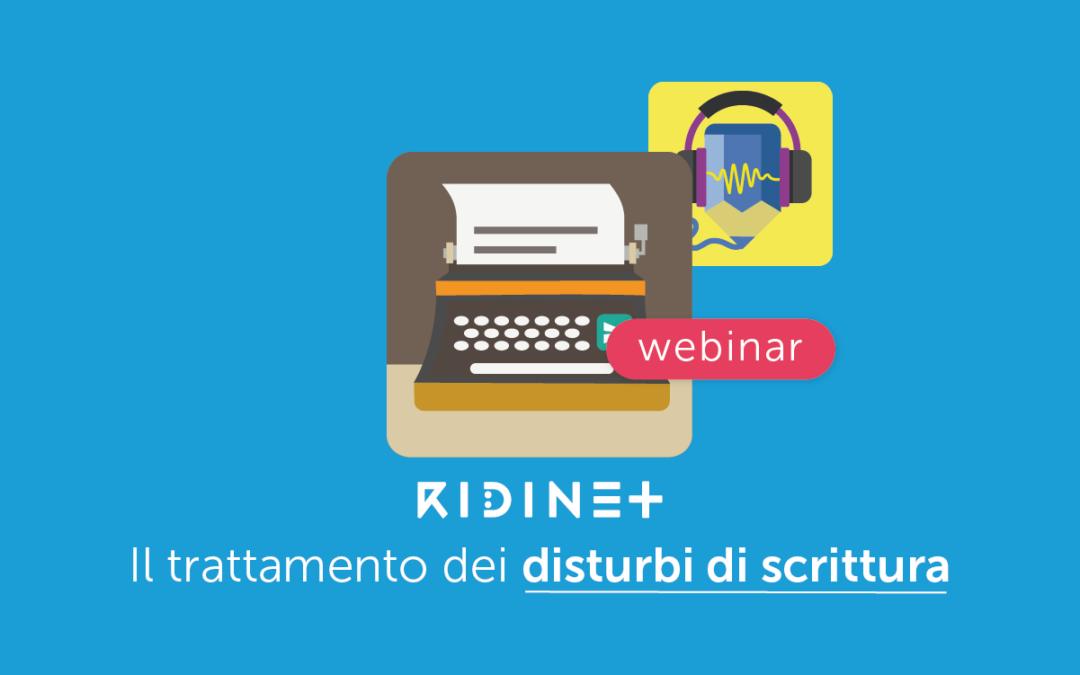 Clinici » Il trattamento dei Disturbi di Scrittura con RIDInet