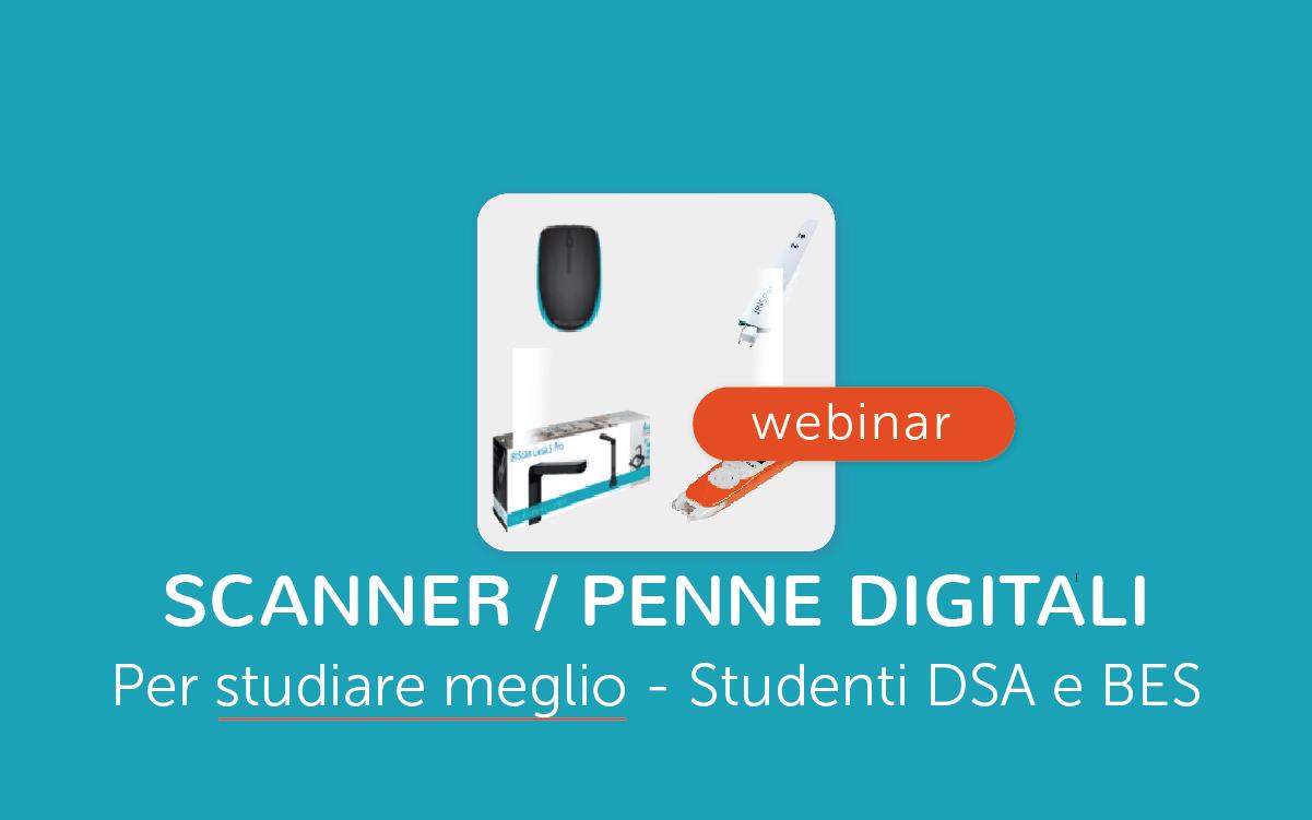 Webinar Scanner e penne digitali per lo studio