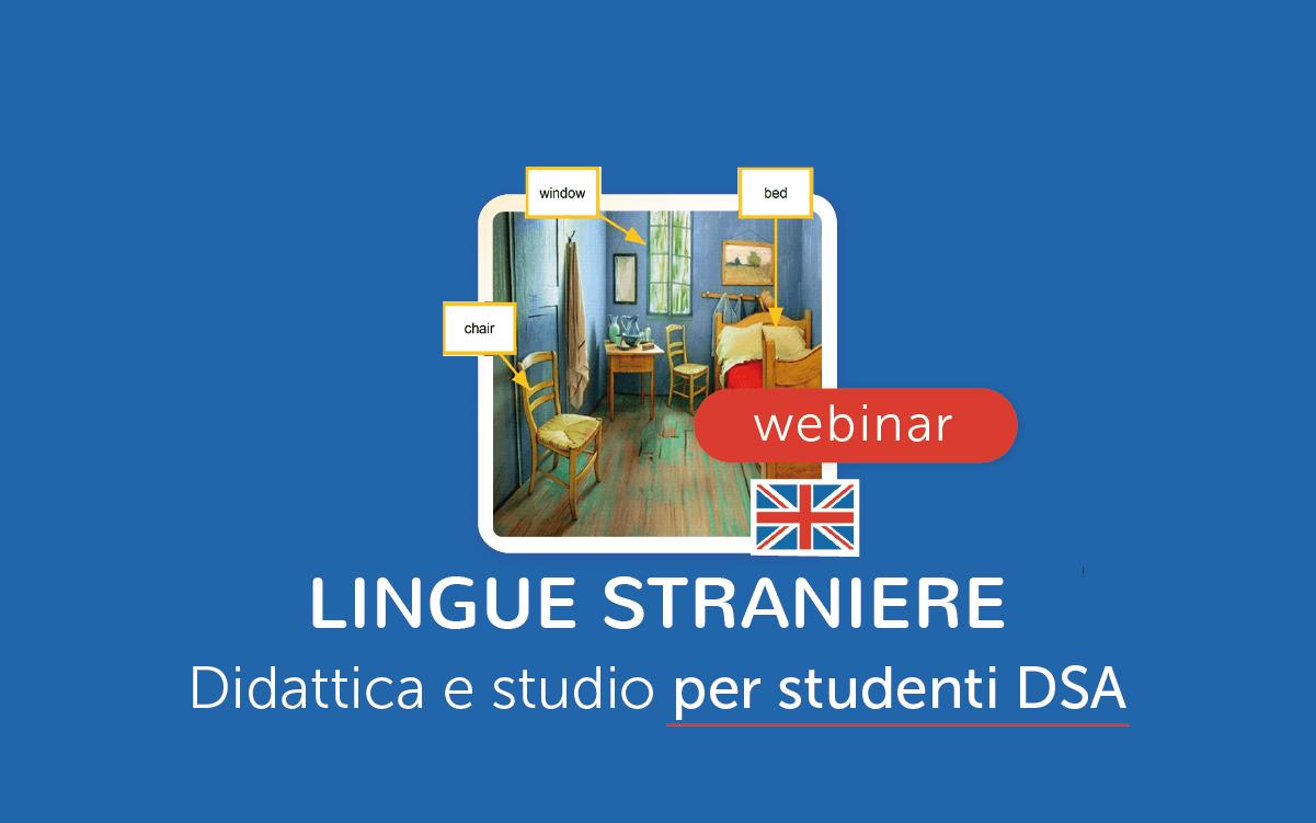 Webinar - lingue straniere e DSA