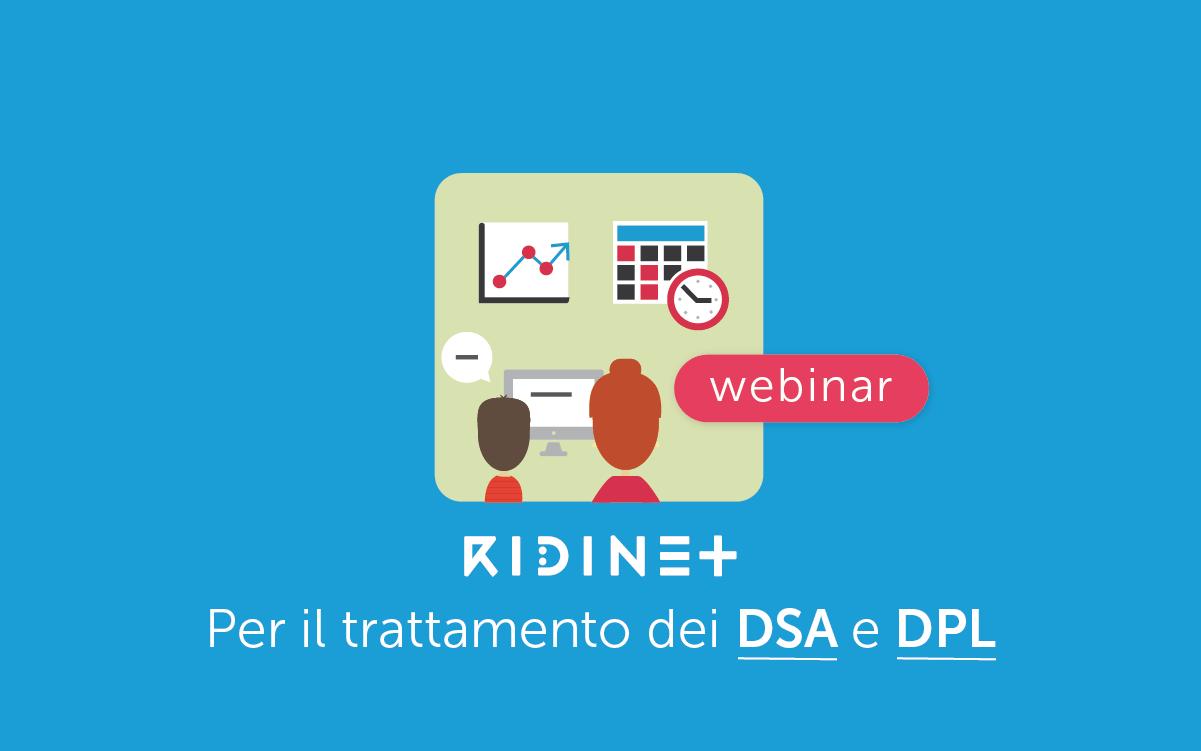 Webinar RIDInet DSA e DPL