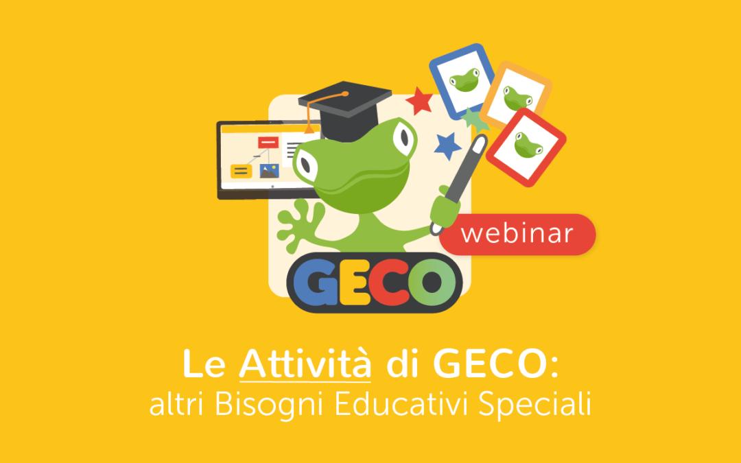 Scuola » Le attività di Geco – Area Altri BES