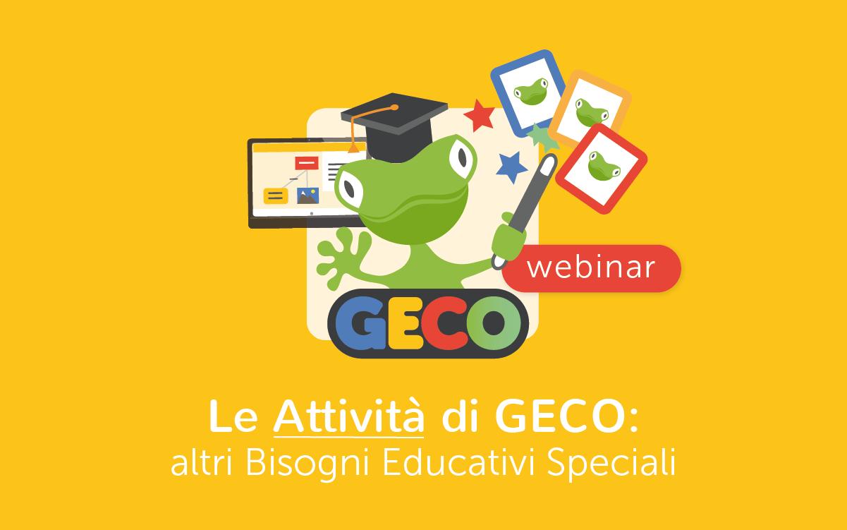 Webinar Attività di GECO - BES