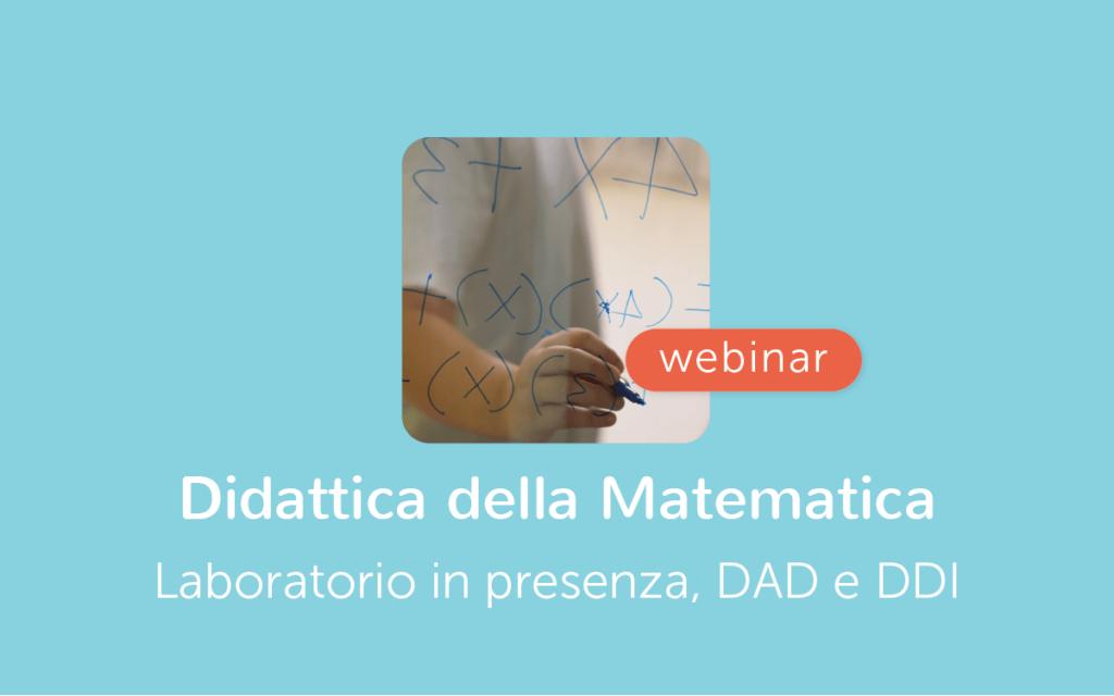 Webinar Matematica Laboratorio