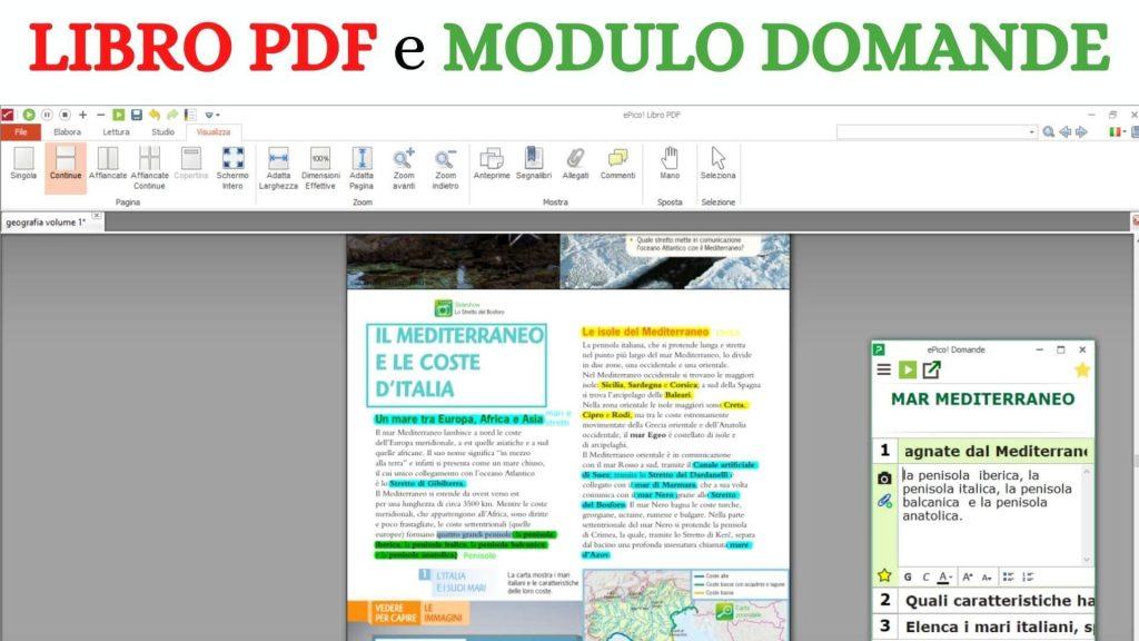 Libro PDF e Modulo domande