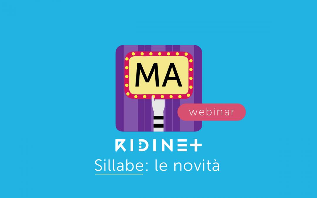 Clinici » Le novità di Sillabe, l'app di RIDINET sulla Lettura Sublessicale