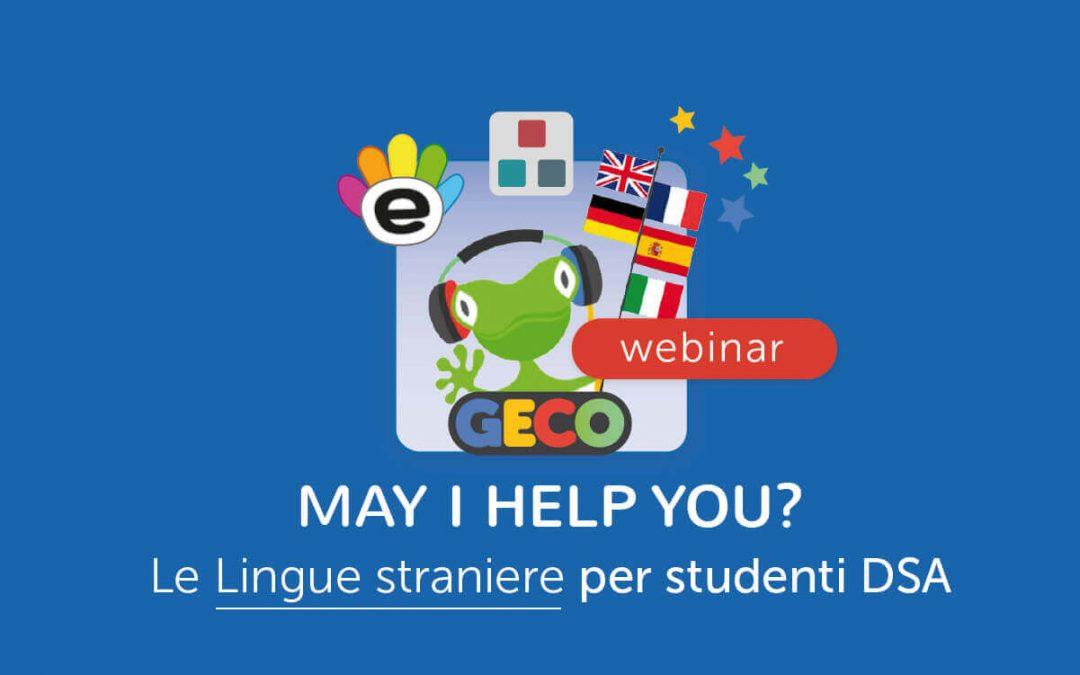 Scuola » May I help you? Didattica e studio delle lingue straniere per studenti DSA
