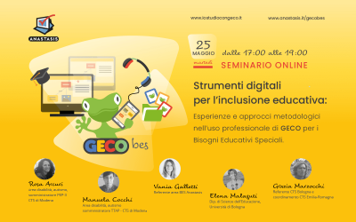 Strumenti digitali per l'inclusione educativa: GECO BES