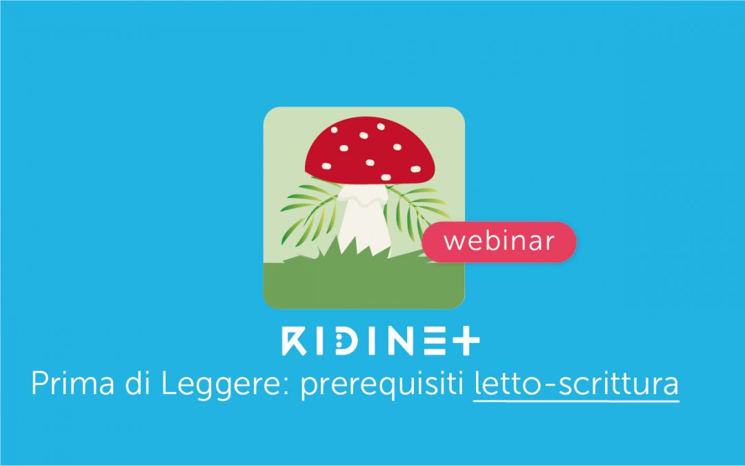 Clinici » Prima di Leggere: la nuova App di RIDInet sui prerequisiti della letto-scrittura