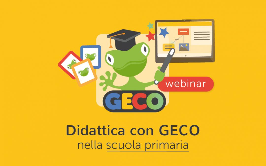 Scuola » Suggerimenti, strategie e spunti per la didattica con GECO nella scuola Primaria o con  alunni con BES