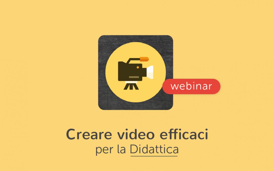 Scuola » Come creare facilmente video efficaci per la didattica