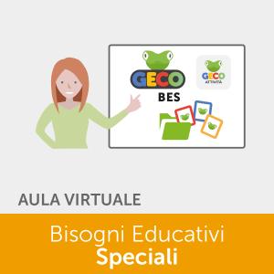 Geco - Bisogni educativi Speciali - corso in aula virtuale