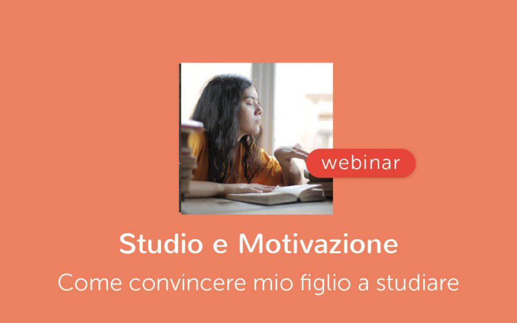 Webinar - studio e motivazione